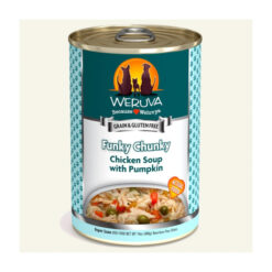 Weruva Funky Chunky Chicken Soup with Pumpkin Canned Dog Food