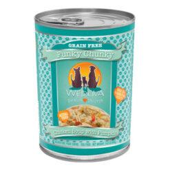 Weruva Funky Chunky Chicken Soup with Pumpkin Canned Dog Food Weruva Funky Chunky Chicken Soup with Pumpkin Canned Dog Food