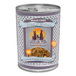 Weruva Steak Frites with Beef, Pumpkin & Sweet Potatoes in Gravy Canned Dog Food