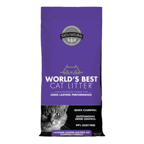 World's Best Cat Litter Scented Multiple Cat Clumping Formula