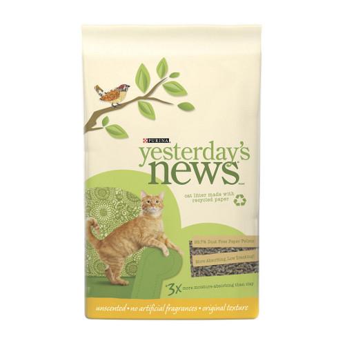 Yesterday's News Original Formula Cat Litter