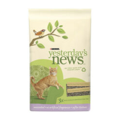 Yesterday's News Softer Texture Unscented Cat Litter