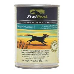 ZiwiPeak Daily-Dog Cuisine Venison & Fish Canned Dog Food