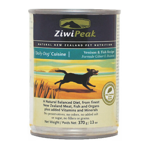 ZiwiPeak Daily-Dog Cuisine Venison & Fish Canned Dog Food