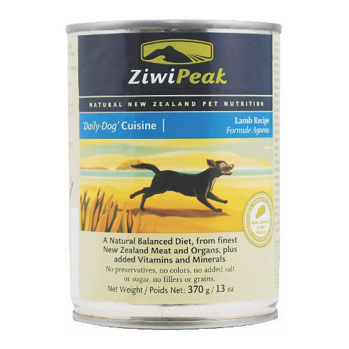 ZiwiPeak Daily-Dog Cuisine Lamb Canned Dog Food