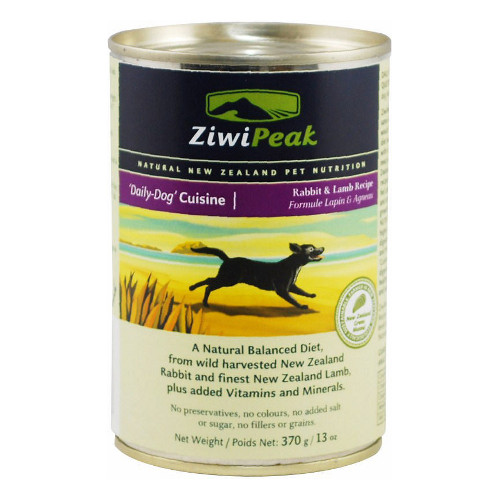 ZiwiPeak Daily-Dog Cuisine Rabbit & Lamb Canned Dog Food