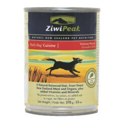 ZiwiPeak Daily-Dog Cuisine Venison Canned Dog Food