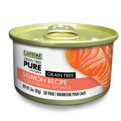 Canidae Grain-Free PURE Salmon Recipe with Slices in Delicate Fish Sauce Canned Cat Food