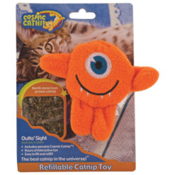 Cosmic Outta' Sight Refillable Catnip Cat Toy
