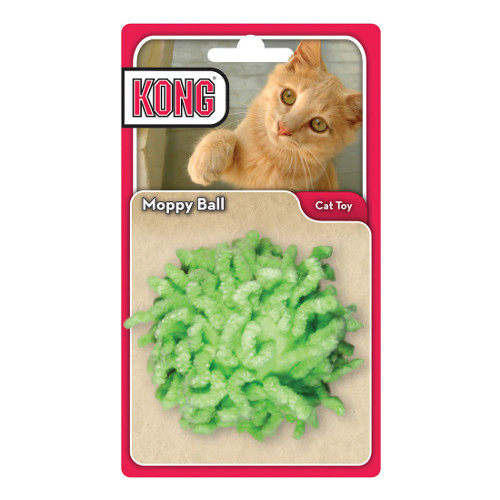 KONG Moppy Ball Cat Toy