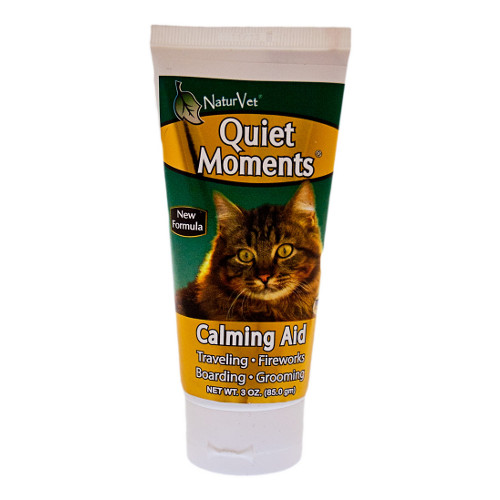NaturVet Quiet Moments Calming Aid Cat Gel
