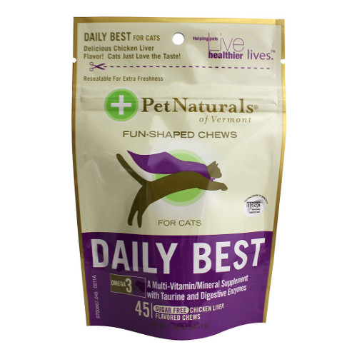 Pet Naturals of Vermont Daily Best Cat Chews