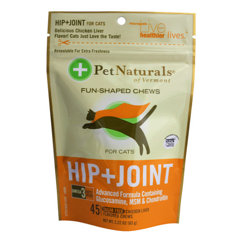 Pet Naturals of Vermont Hip + Joint Cat Chews
