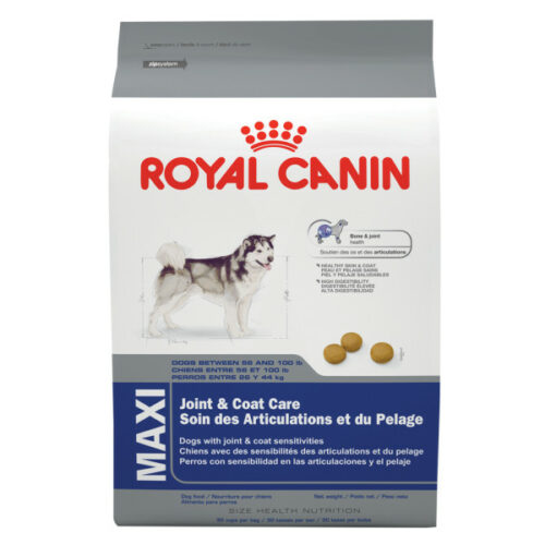 Royal Canin Maxi Joint and Coat Care Adult Dog Food
