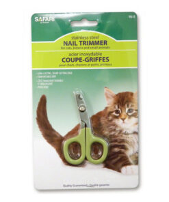 Safari Stainless Steel Nail Trimmer for Cats