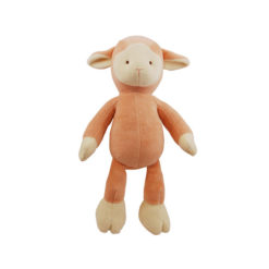 Simply Fido Organic Plush Lolly Pink Lamb Pet Toy