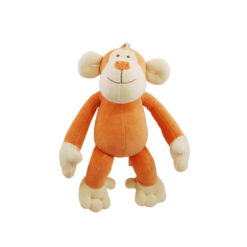 Simply Fido Organic Plush Oscar Monkey Pet Toy