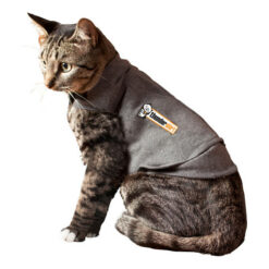 Thundershirt Heather Grey Anxiety Solution for Cats