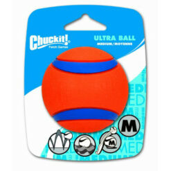Chuckit! Ultra Rubber Ball, Medium 2.5 inch 1-pack