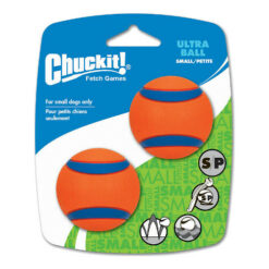 Chuckit! Ultra Rubber Ball, Small 2 inch 2-pack