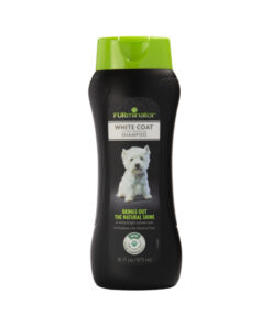 FURminator White Coat Ultra Premium Shampoo For Dogs