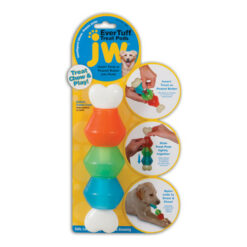JW Pet Nylon Dog Treat Pod Toy