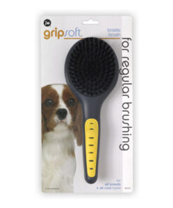 JW Pet Gripsoft Bristle Brush
