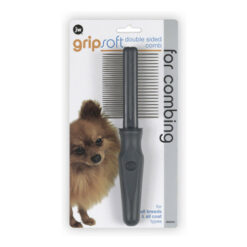 JW Pet Gripsoft Double Sided Comb