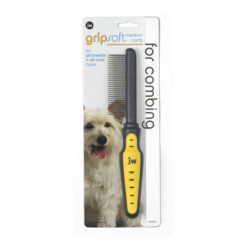 JW Pet Gripsoft Medium Comb