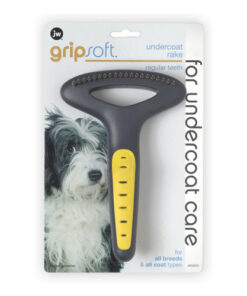JW Pet Gripsoft Undercoat Rake regular Teeth