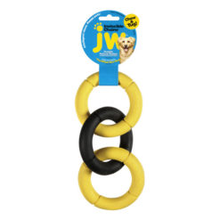 JW Pet Invincible Chains Triple Dog Toy