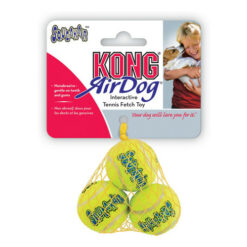 KONG AirDog Squeakair Balls Dog Toy, X-Small