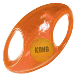 KONG Jumbler Football Dog Toy, Medium/Large