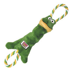 KONG Tuggerknots Frog Dog Toy