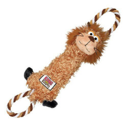 KONG Tuggerknots Lion Dog Toy