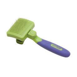 Li'l Pals Self Cleaning Slicker Brush
