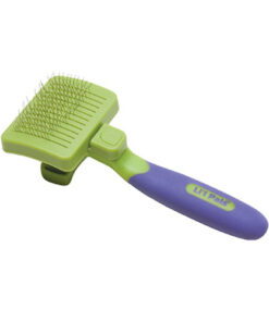 Li'l Pals Self Cleaning Slicker Brush