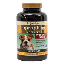 NaturVet Coprophagia Deterrent Dog Tablets
