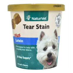 NaturVet Tear Stain Plus Lutein 70 Soft Chews