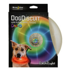 Nite Ize Flashflight Dog Discuit LED Flying Disc
