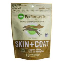 Pet Naturals of Vermont Skin + Coat Dog Chews
