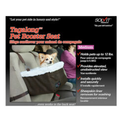 Solvit Standard Tagalong Pet Booster Seat