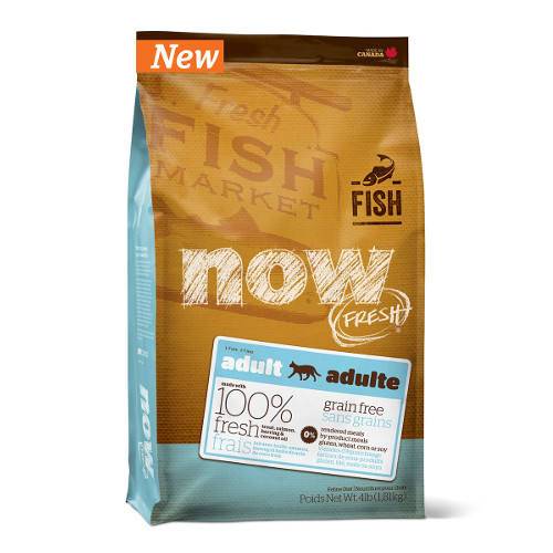 NOW FRESH Grain Free Adult Fish Recipe Dry Cat Food