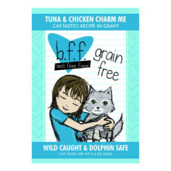 Best Feline Friend Tuna & Chicken Charm Me Cat Food Pouches