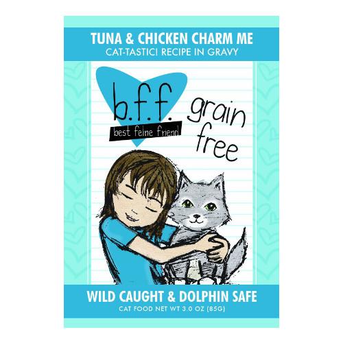 Best Feline Friend Tuna & Chicken Charm Me Cat Food Pouches