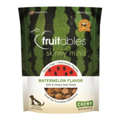 Fruitables Skinny Minis Watermelon Soft & Chewy Dog Treats