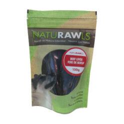 NatuRAWls Beef Liver Dog Treats