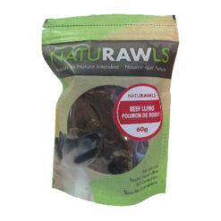 NatuRAWls Beef Lung Dog Treats
