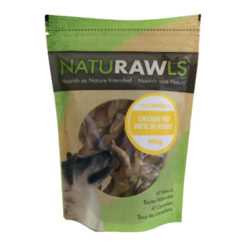 NatuRAWls Chicken Feet Dog Treats
