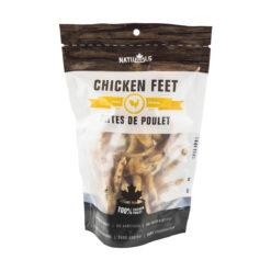 NatuRAWls Chicken Feet Dog Treats